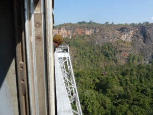 train tresle in myanmar