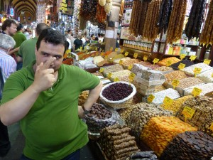 Grand Bazaar sweets vendor